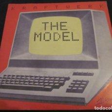 Discos de vinilo: KRAFTWERK - THE MODEL - SN - EDICION INGLESA DEL 1981.. Lote 145050426
