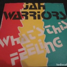 Discos de vinilo: JAH WARRIORS - WHAT'S THIS FEELING - SN - EDICION INGLESA DEL AÑO 1984.. Lote 145051462