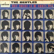 Discos de vinilo: DISCO DE LOS BEATLES. Lote 145053430