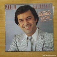 Disques de vinyle: PAOLO SALVATORE - GRANDES EXITOS - LP. Lote 145063452