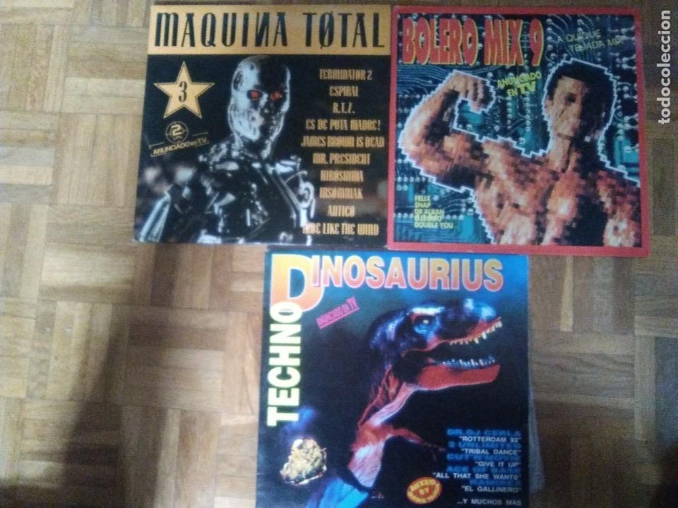 Discos de vinilo: LOTE SKATE BOARD.BOLERO MIX,MAQUINA TOTAL(VENDIDO),TechNo dinosaurius,Por fin es viernes - Foto 2 - 141415502