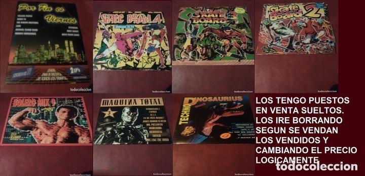 Discos de vinilo: LOTE SKATE BOARD.BOLERO MIX,MAQUINA TOTAL(VENDIDO),TechNo dinosaurius,Por fin es viernes - Foto 3 - 141415502