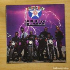 Discos de vinilo: READY FOR THE WORLD - RUFF ´N´READY - LP. Lote 145067064