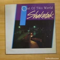 Disques de vinyle: SHAKATAK - OUT OF THIS WORLD - LP. Lote 145069168