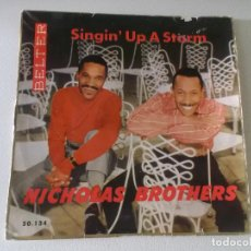 Discos de vinilo: THE NICHOLAS BROTHERS – SINGIN' UP A STORM SELLO: BELTER – 50.134. Lote 145095290
