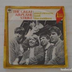 Discos de vinilo: PAUL REVERE Y THE RAIDERS - THE GREAT AIRPLANE STRIKE C B S - 1967. Lote 247987800