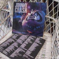 Disques de vinyle: JOHNNY CRASH – NEIGHBOURHOOD THREAT .LP ORIGINAL ESPAÑA 1990.CON INNER.SELLO EPIC.HARD ROCK. Lote 145104550
