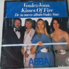 Dischi in vinile: ABBA, VOULEZ VOUS, KISSES OF FIRE, CARNABY 1979 ED ESPAÑOLA. Lote 145115950