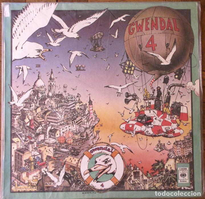 GWENDAL. GWENDAL 4. CBS, S 84099. ESPAÑA, 1979. FUNDA VG++. DISCO VG++. (Música - Discos de Vinilo - Maxi Singles - Country y Folk)