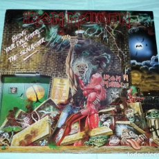 Discos de vinilo: MAXI PICTURE DISC IRON MAIDEN - BRING YOUR DAUGHTER TO THE SLAUGHTER. Lote 145127846
