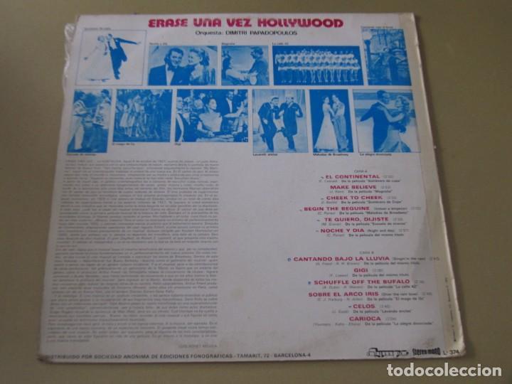 Discos de vinilo: LP VINILO ERASE UNA VEZ EN HOLLYWOOD Thats Entertainment! DIMITRI PAPADOPOULOS - Foto 2 - 145129430