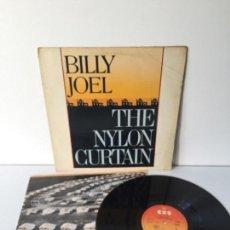 Discos de vinilo: BILLY JOEL - THE NYLON CURTAIN - LP 1982 CON ENCARTE CANCIONES. Lote 145136838