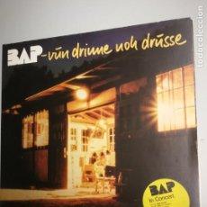 Discos de vinilo: BAP VUN DRINNE NOH DRUSSE EN CONCIERTO 1982 LP MUSICA DE BOB DYLAN. Lote 145137550