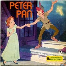 Discos de vinilo: WALT DISNEY ?– PETER PAN - EP CUENTO-DISCO BRUGUERA 1968. Lote 145145486