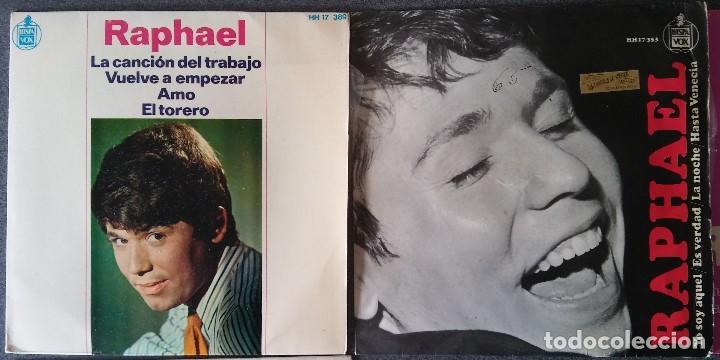 Discos de vinilo: Lote singles Raphael - Foto 3 - 145147270
