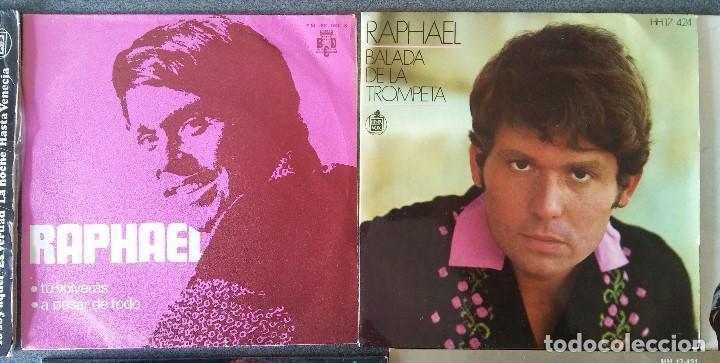 Discos de vinilo: Lote singles Raphael - Foto 4 - 145147270