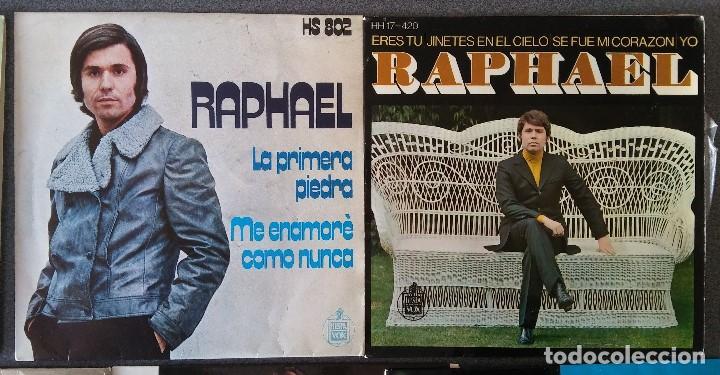Discos de vinilo: Lote singles Raphael - Foto 5 - 145147270