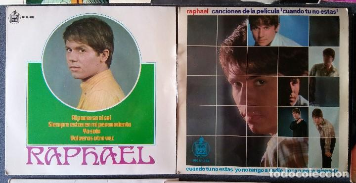 Discos de vinilo: Lote singles Raphael - Foto 6 - 145147270