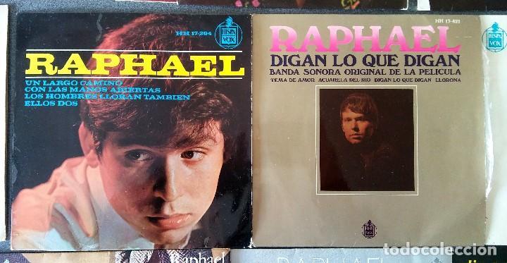 Discos de vinilo: Lote singles Raphael - Foto 7 - 145147270