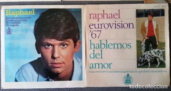 Discos de vinilo: Lote singles Raphael - Foto 9 - 145147270