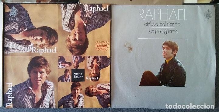 Discos de vinilo: Lote singles Raphael - Foto 10 - 145147270