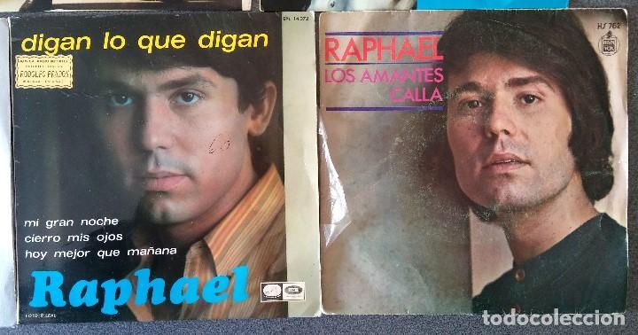 Discos de vinilo: Lote singles Raphael - Foto 11 - 145147270