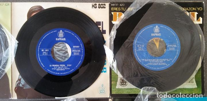 Discos de vinilo: Lote singles Raphael - Foto 14 - 145147270