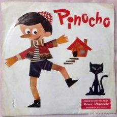 Discos de vinilo: PINOCHO - SINGLE PROMO MARFER 1973. Lote 145145746