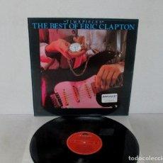 Discos de vinilo: ERIC CLAPTON - TIME PIECES / THE BEST OF - LP - POLYDOR 1993 SPAIN 800 014-1 LABEL ROJO - N MINT. Lote 195260182