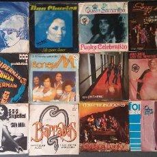 Discos de vinilo: LOTE SINGLES DISCO DANCE ZINGA DIONNE WARWICK TINA CHARLES QUEEN SAMANTHA DOC & PROHIBITION . Lote 145148650