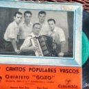 Discos de vinilo: E P (VINILO) DE QUINTETO GOXO AÑOS 50. Lote 145148914