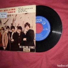 Discos de vinilo: THE ROLLING STONES - EP SPAIN - ROUTE 66 + 3 - DECCA 1964 - MEGARARE VEDR FOTOS. Lote 145167218
