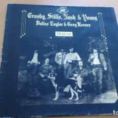 Discos de vinilo: CROSBY STILLS NASH & YOUNG DEJA VU LP GATEFOLD 1970. Lote 145173134