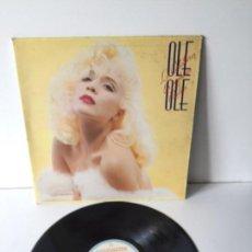 Discos de vinilo: OLE OLE - LOTE 2 DISCOS - MAXISINGLE- LILI MARLEM - LP - LOS CABALLEROS LAS PREFIEREN RUBIAS. Lote 145179318