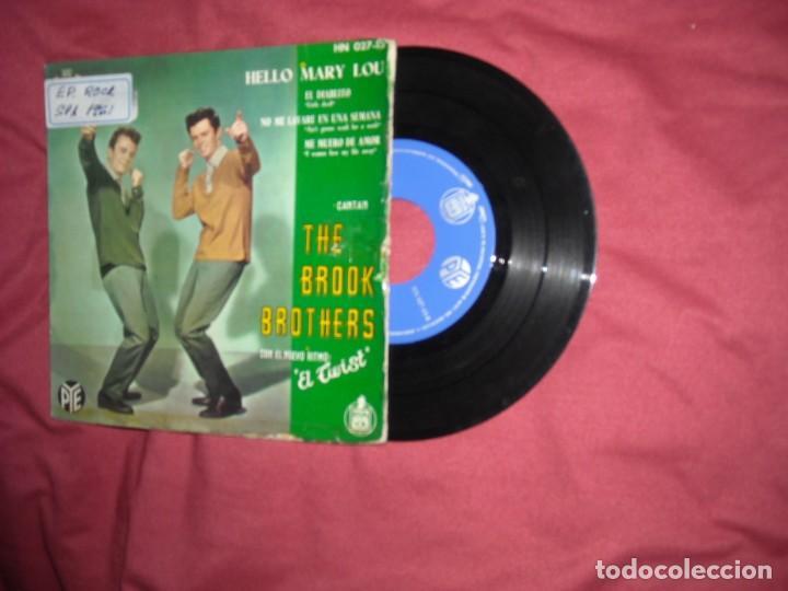THE BROOK BROTHERS EP HELLO MARY LOU 1961 SPA VER FOTOS (Música - Discos de Vinilo - EPs - Pop - Rock Extranjero de los 50 y 60)