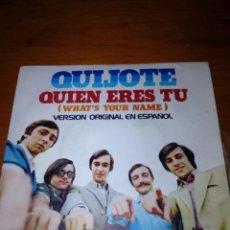 Discos de vinilo: QUIJOTE. QUIEN ERES TU. VERSION ORIGINA EN ESPAÑOL. ENERO, FEBRERO... MRV. Lote 145187482