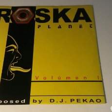 Discos de vinilo: DJ PEKAO - ROSKA VOL. 1. Lote 145187505