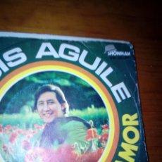 Discos de vinilo: LUIS AGUILE CON AMOR O SIN AMOR. MRV. Lote 145189754
