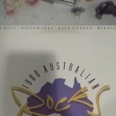 Discos de vinilo: AUSTRALIAN ROCKS RECOPILATORIO...MIDNIGHT OIL,MENTAL AS ANYTHING ,NOISEWORKS.ETC. Lote 145194406