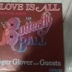 Discos de vinilo: ROGER GLOVER LOVE IS ALL DEEP PURPLE,CANTA DIO RAREZA. Lote 145197026