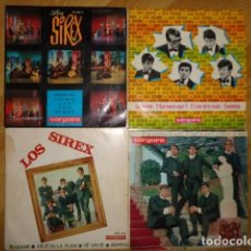 Discos de vinilo: LOTE DE 4 EP'S DEL GRUPO 'LOS SIREX'. Lote 145214390
