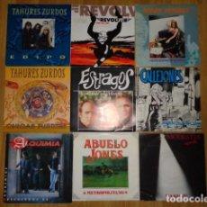 Discos de vinilo: LOTE DE 18 SINGLES DE POP Y ROCK NACIONAL, EPOCA '90. Lote 145215418