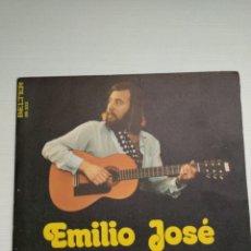 Discos de vinilo: SINGLE. EMILIO JOSÉ. SOLEDAD, CONTIGO QUISIERA ESTAR. Lote 145222014