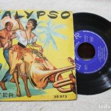 Discos de vinilo: CALYPSO VOL III ENOCH LIGHT Y SU ORQUESTA EP JAZZ LATINO VINYL MADE IN SPAIN 1957. Lote 145225458