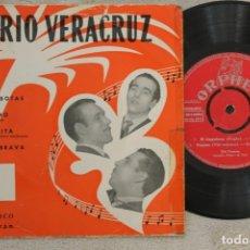 Discos de vinilo: TRIO VERACRUZ EL LIMPIABOTAS EP VINYL MADE IN SPAIN ORPHEO. Lote 145227298