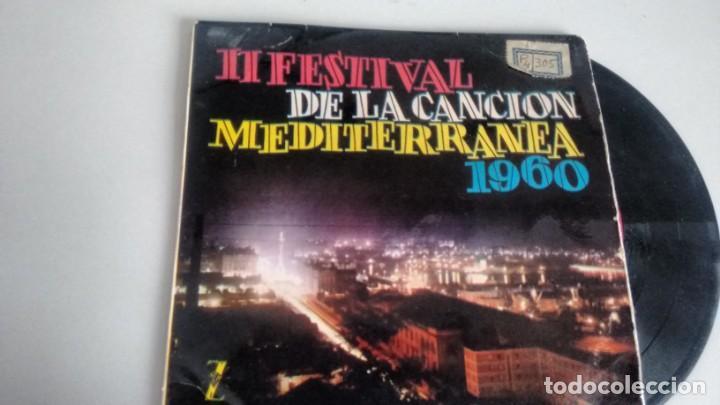 E P (VINILO) DE II FESTIVAL DE LA CANCION MEDITERRANEA -ORQUESTA MARAVELLA (Música - Discos - LP Vinilo - Otros Festivales de la Canción)