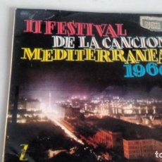 Discos de vinilo: E P (VINILO) DE II FESTIVAL DE LA CANCION MEDITERRANEA -ORQUESTA MARAVELLA. Lote 145236290