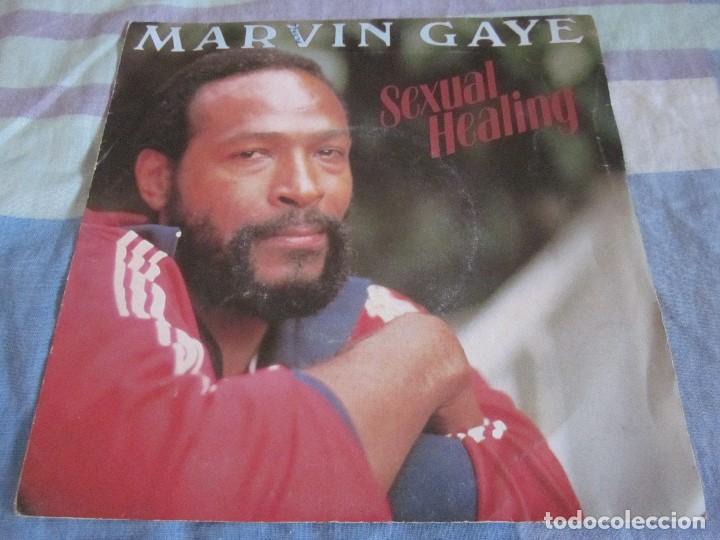 MARVIN GAYE - SEXUAL HEALING - SN - EDICION FRANCESA DEL AÑO 1982. (Música - Discos - Singles Vinilo - Funk, Soul y Black Music)