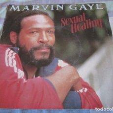 Discos de vinilo: MARVIN GAYE - SEXUAL HEALING - SN - EDICION FRANCESA DEL AÑO 1982.. Lote 145239366