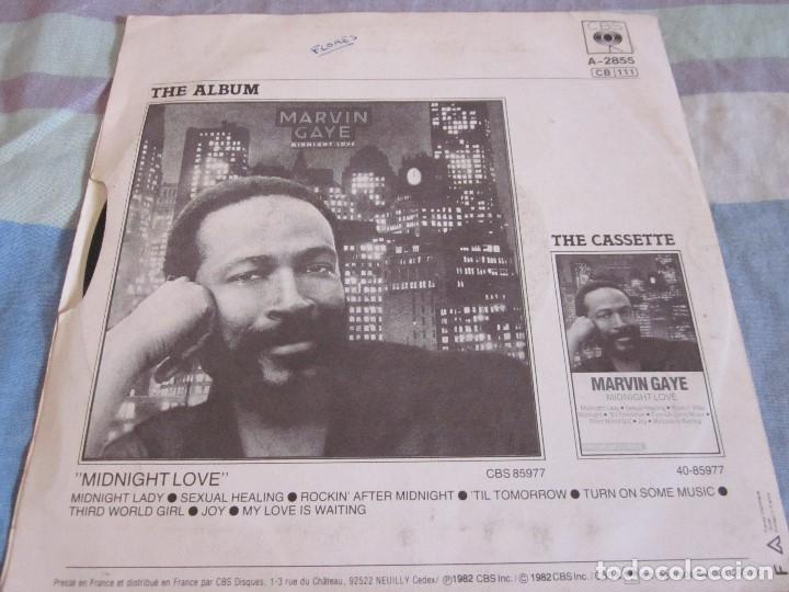 Discos de vinilo: MARVIN GAYE - SEXUAL HEALING - SN - EDICION FRANCESA DEL AÑO 1982. - Foto 2 - 145239366